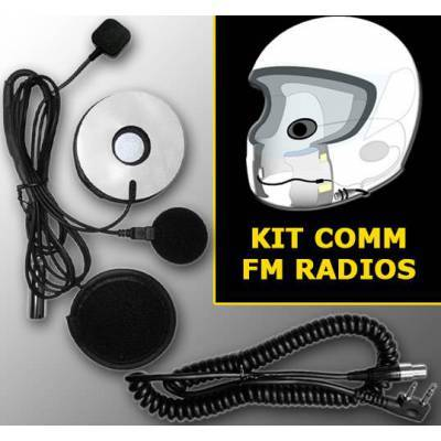 KIT Comunicación Casco Integral