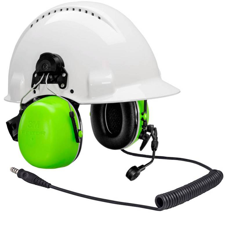 HIGH ATTENUATION HEADSET CH-5, J11 HELMET HIVIZ