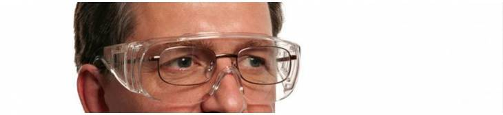 Overspectacles to use with your glasses with minimal interference
