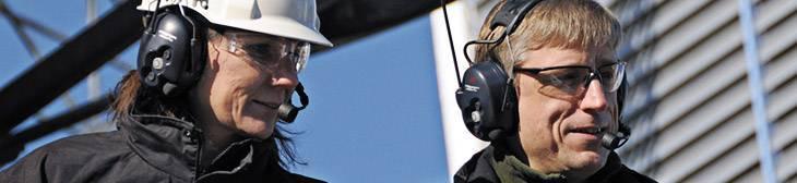 Productos para la protección y comunicación en entornos ruidosos