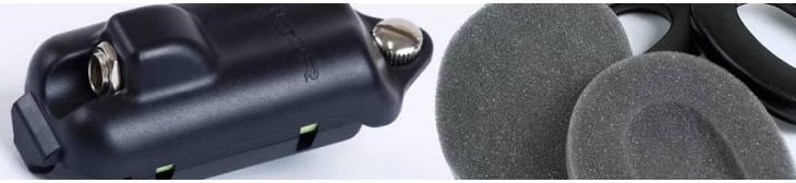 Accesorios para orejeras de auriculares de comunicación