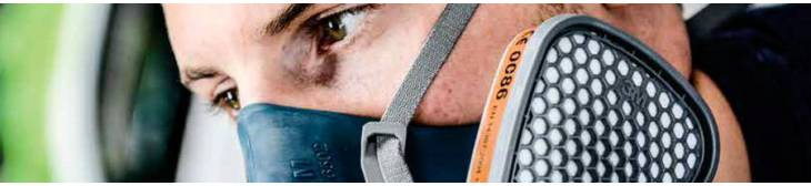 Respiratory Masks and Filters for particles, gases and vapors